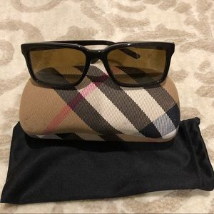 Men's Polarized Burberry Sunglasses